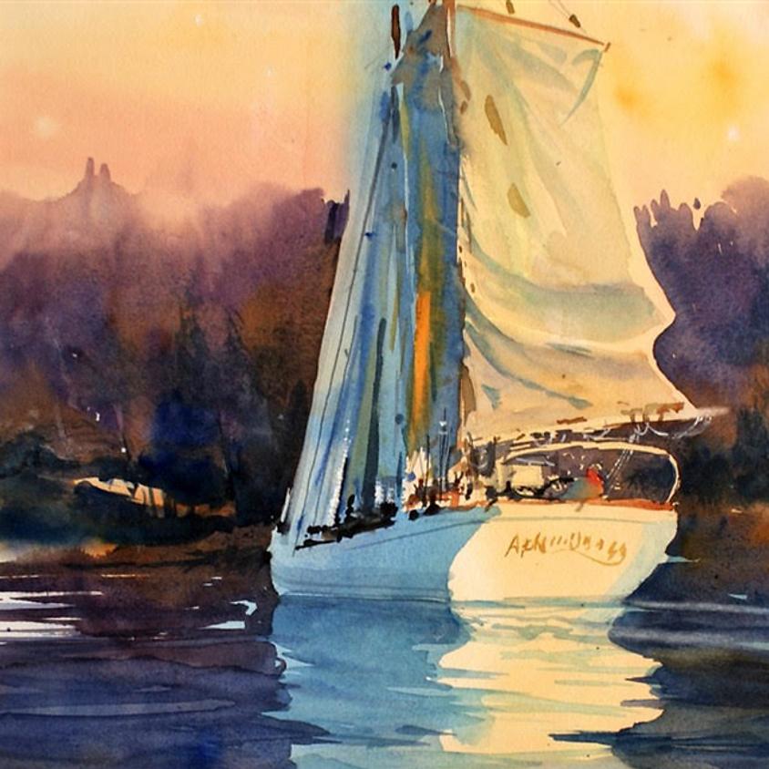 Watercolor with Robert Mesrop - on Zoom
