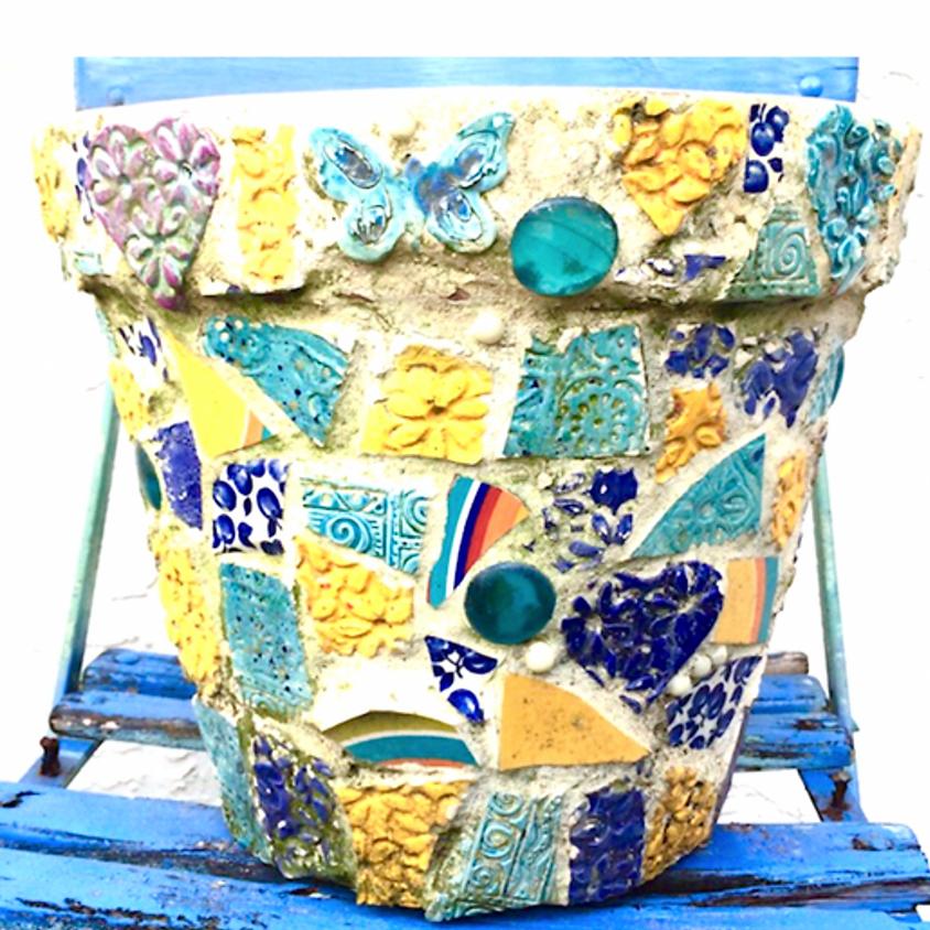 REPURPOSED TREASURES: Mosaic Art with Michel Francoeur - June 5 & 6