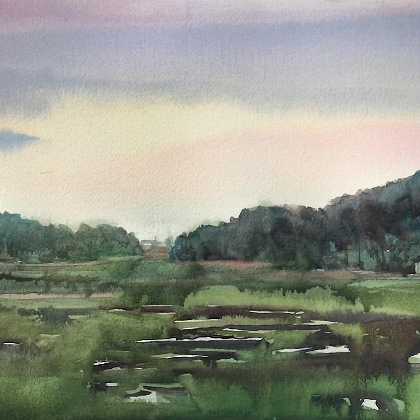 WATERCOLOR IN WELLFLEET with Wennie Huang, 2 Days: Saturday, July 31 & August 1, 9:30 am-1 pm