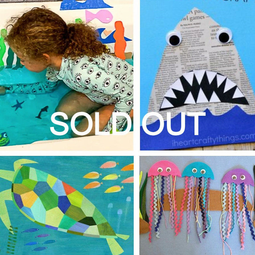 SOLD OUT - Art By The Sea: 2D and 3D Collage with Michael Giaquinto / Ages 6-10
