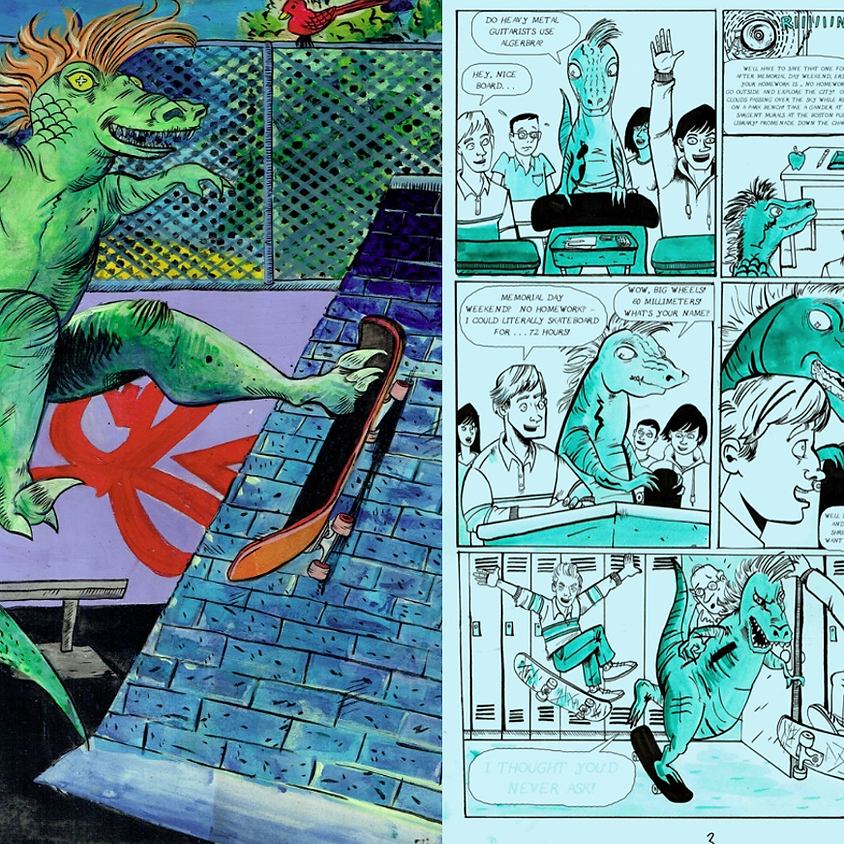 Cartooning / Graphic Novels with Jack Turnbull / Ages 12 - 16