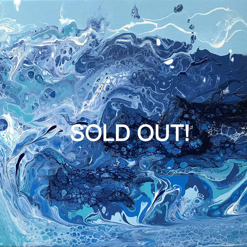 Acrylic Paint Pouring with Joyce Groemmer     SOLD OUT!