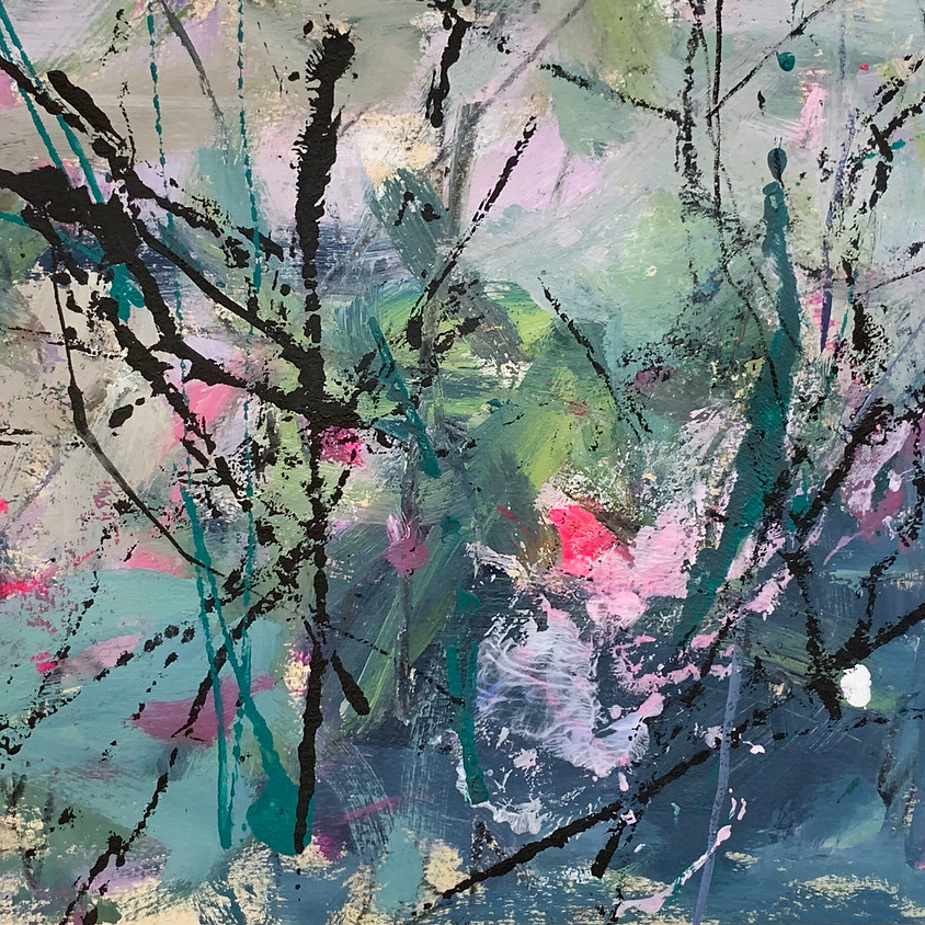 ABSTRACTING FROM NATURE with Mary Moquin - 3 Days: September 13 - 15, 9:30-3:30