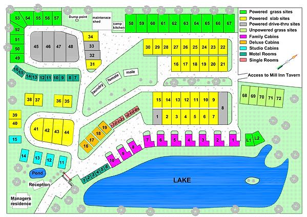 Millmerran Village Park Map.png