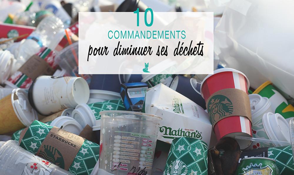 dix commandement pour diminuer ses dechet tookki zero dechet ecologie