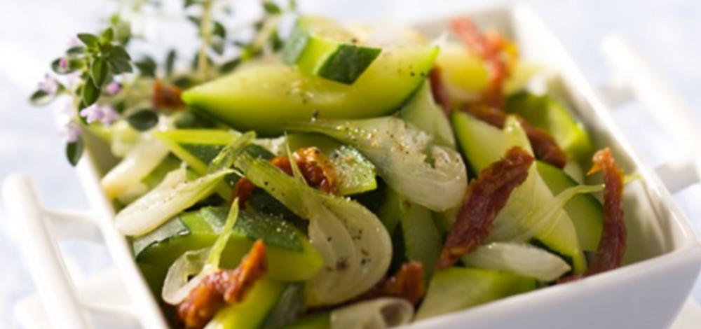 salade courgettes pique nique ete
