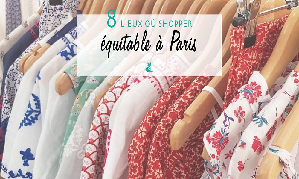 Shopping equitable Paris