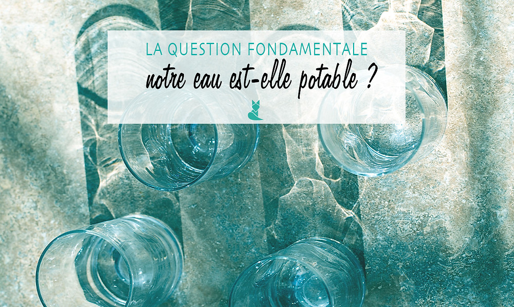 question l eau est elle potable