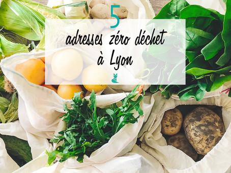 5 adresses zéro déchet à Lyon
