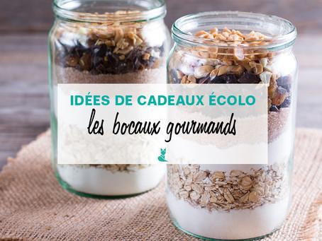 Idées de cadeaux écolo : Les kits gourmands en bocaux