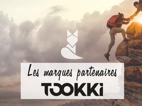 Les marques partenaires Tookki.