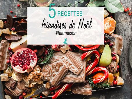 5 recettes pour des friandises de Noël #faitmaison