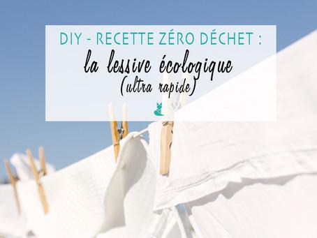 Recette zéro déchet : la lessive écologique ultra rapide !