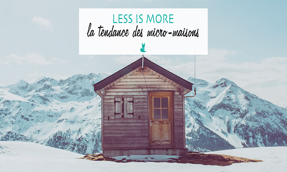 less is more micro maisons