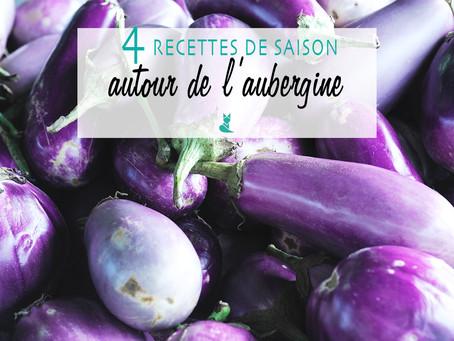 Recettes maison et de saison : L'aubergine à toutes les sauces !