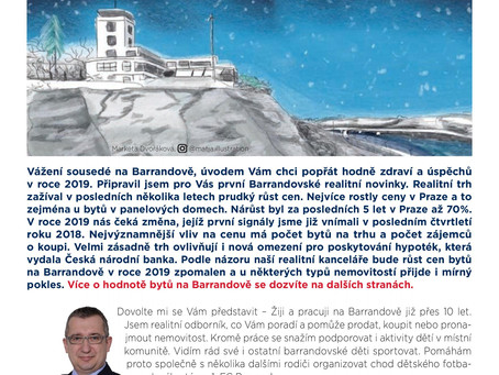 Barrandovské realitní novinky