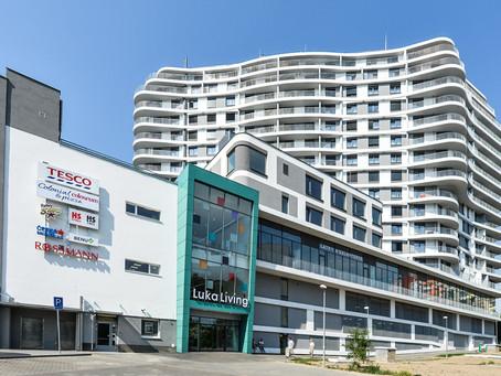 Pronájem atraktivních bytů, obchodních jednotek a prostor pro lékařské ordinace v Luka Living
