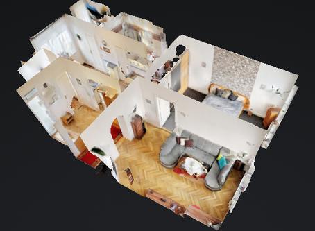 Virtuální prohlídka nemovitosti je u mne od letošního roku standard