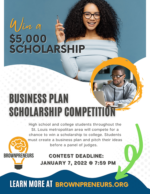 2022 Brownpreneurs Business Plan Scholarship Competition - Scholarship Opportunity for Bro
