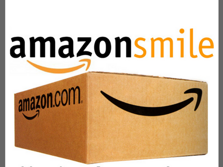 We're an Amazon Smile Approved Charity!