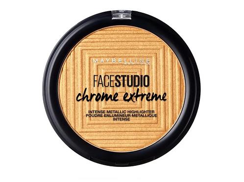 Maybelline Face Studio Chrome Extreme Highlighter - 500 Sparkling Citrine