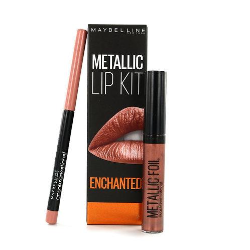 Maybelline Metallic Lip Kit - Enchanted