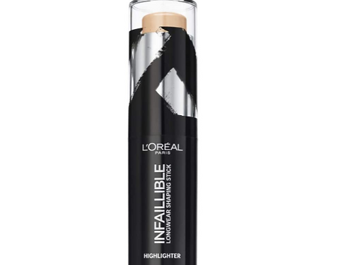 L'Oreal Infallible Longwear Shaping Stick Highlighter - 502 Gold Is Cold