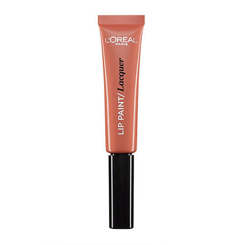 L'Oreal Lip Paint Lacquer - 101 Gone With The Nude