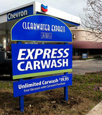 Clearwater Express Chevron