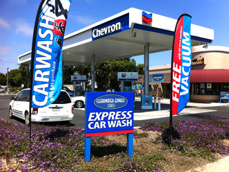 Chevron Clearwater Carwash