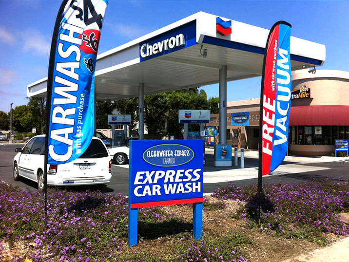 Chevron Clearwater Carwash