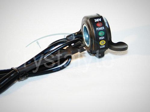 Acelerador de gatillo con LED