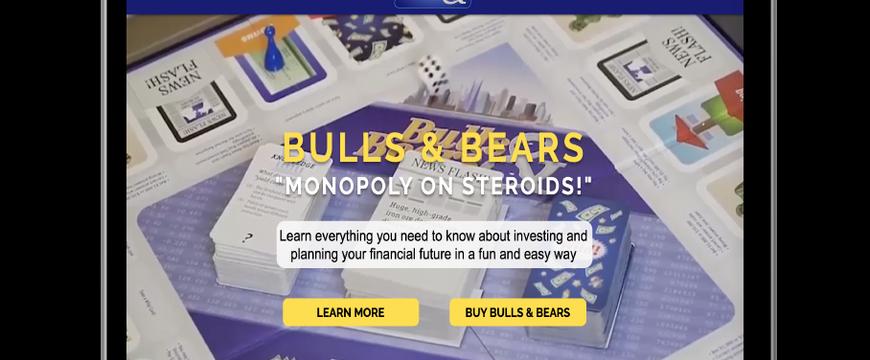 בולז אנד ברז - משחק מונופול כלכלי