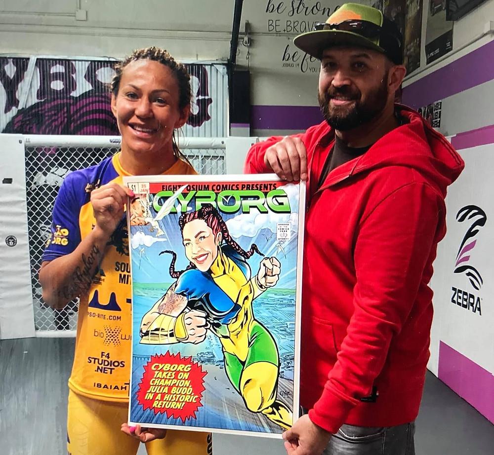Fightposium & Cris Cyborg MMA