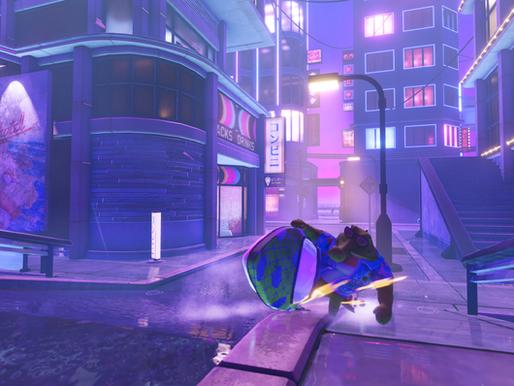 80's-Inspired Skateboating Game, Wave Break, Splashing Onto Steam, Switch