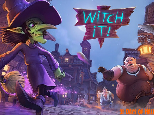 31 Days Of Halloween: Witch It!