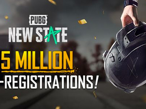 PUBG: NEW STATE Reaches Over Five Million Pre-Registrations