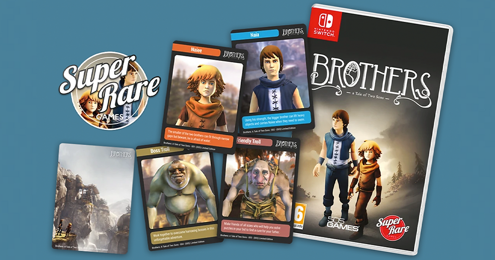 Super Rare Games Brothers: A Tale of Two Sons physical release