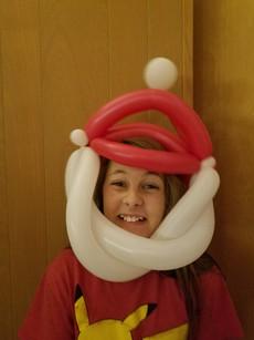 Santa Claus wearable balloon