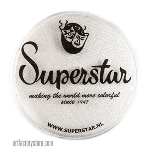 Silver White Shimmer - 45gr Superstar Face Paints #140