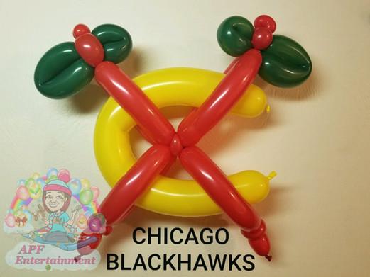Chicago Blackhawks balloon