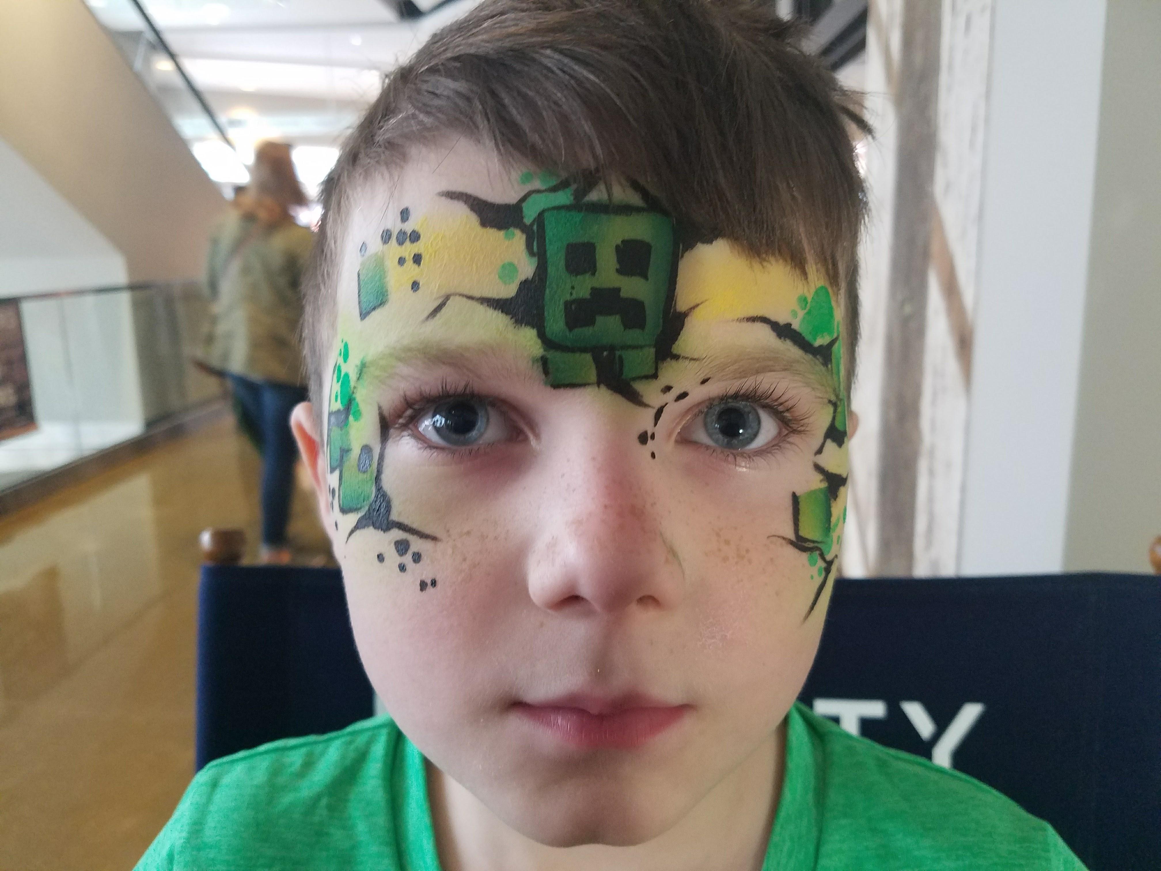 Minecraft Creeper face