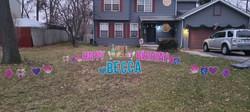 happy 21st birthday yard signs