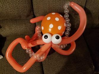 Bubbly Octopus balloon animal