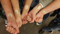 Foil jewelry tattoos