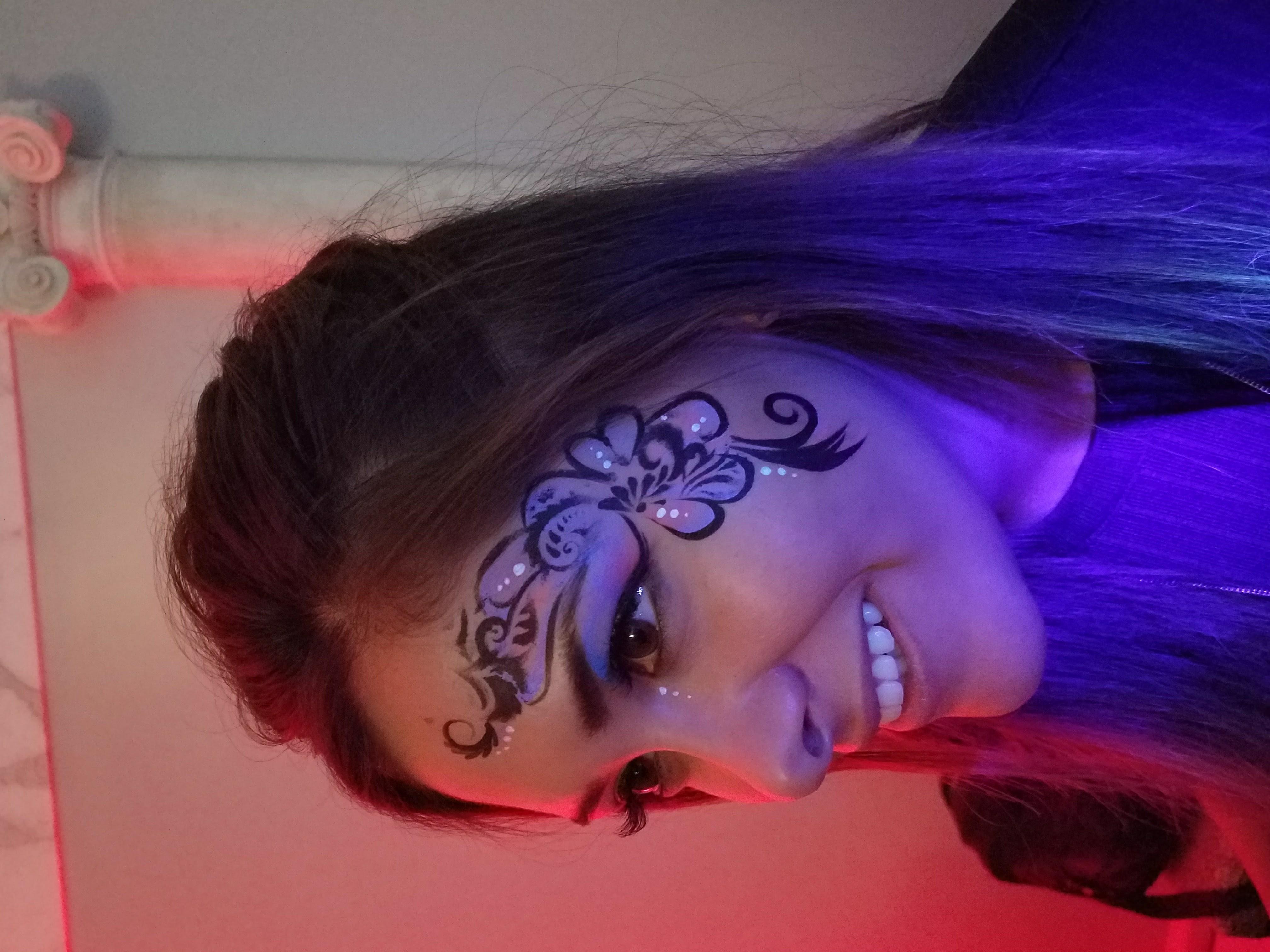 UV floral (under normal lighting)