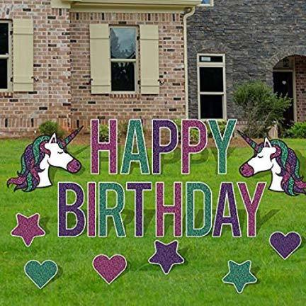 Happy-Birthday-Unicorn-Theme-Yard-Decora