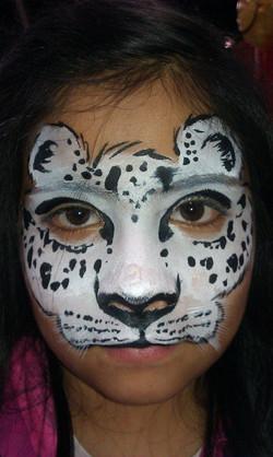 Snow leopard mask