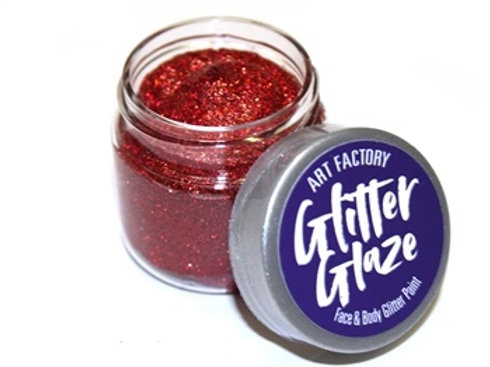 Art Factory Glitter Glaze 1 oz jar