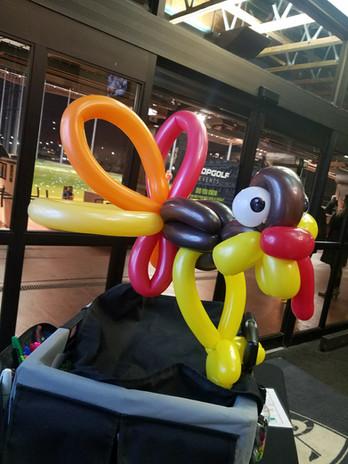 Thanksgiving Turkey balloon animal